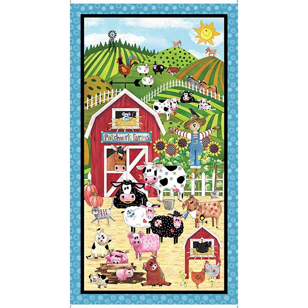 Patchwork Farms Panel