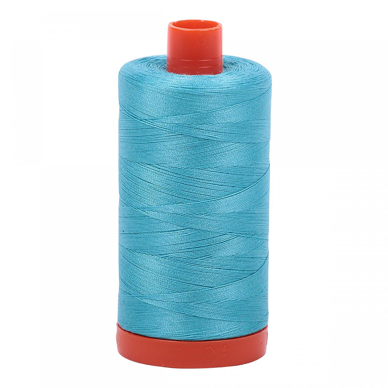 50 wt Aurifil - 5005 Bright Turquoise*