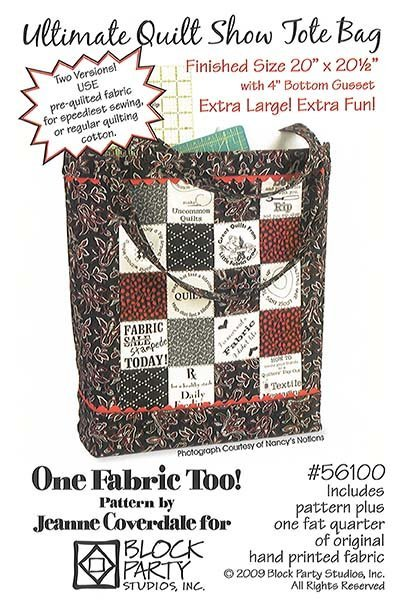 The Ultimate Quilt Show Tote
