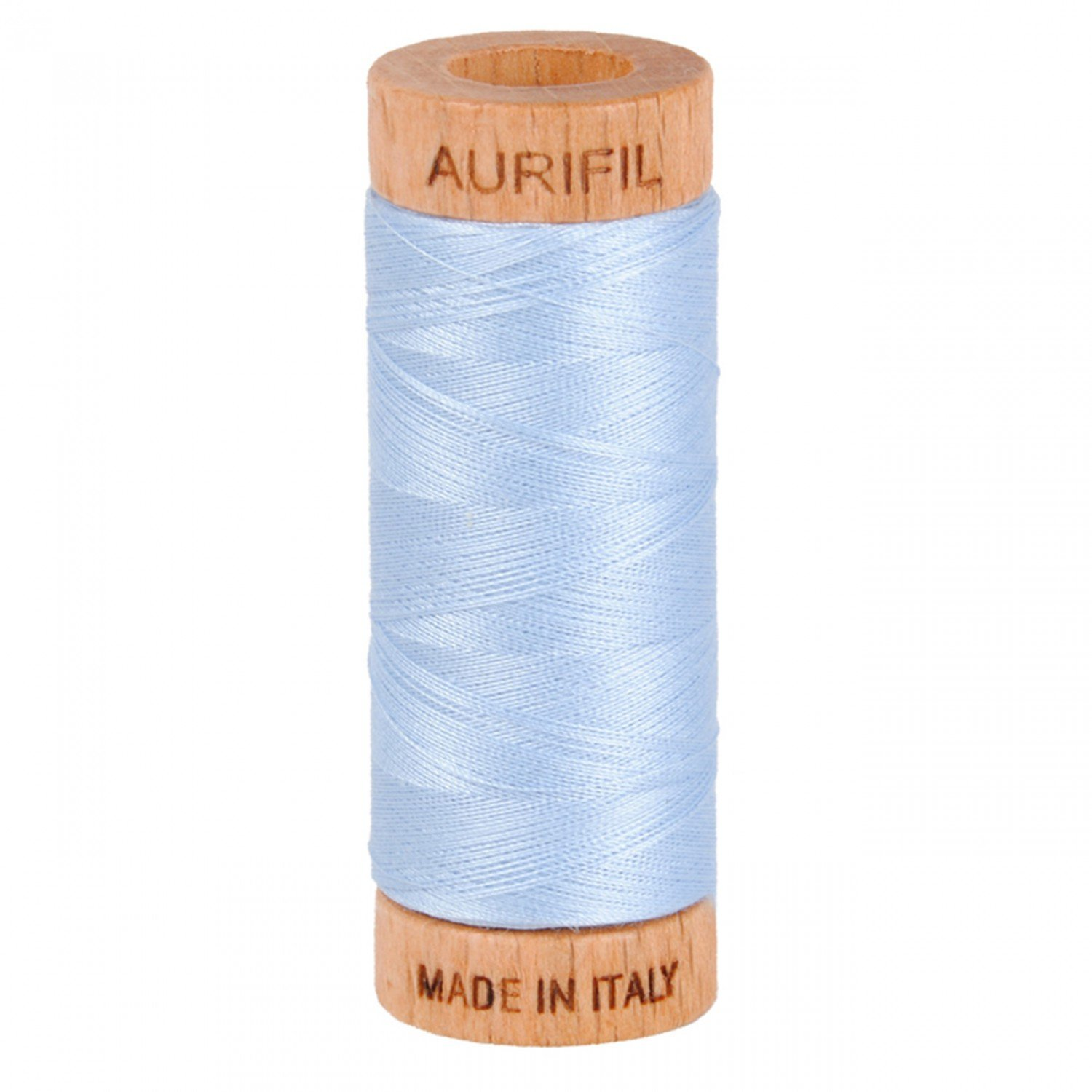 80 wt Aurifil - 2710 Light Robin's Egg