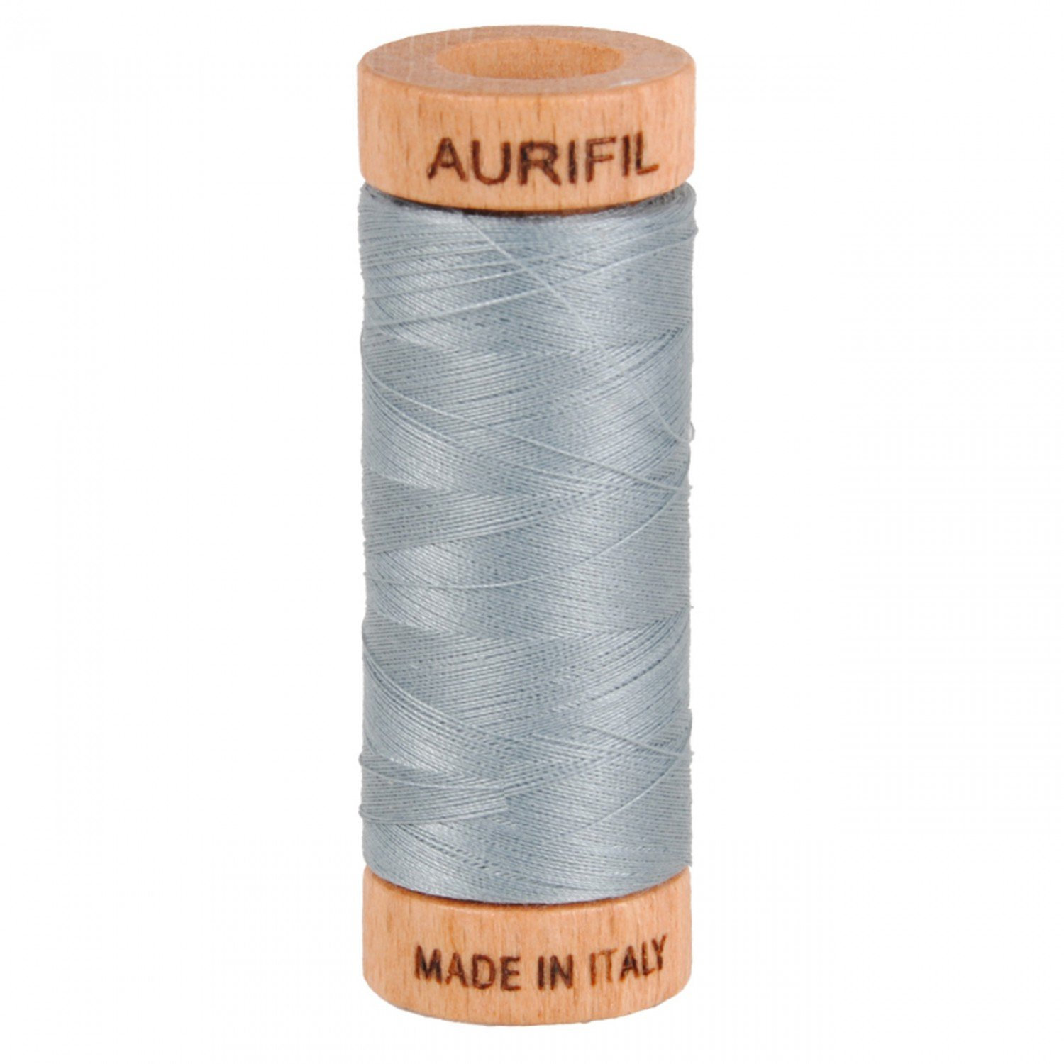 80 wt Aurifil - 2610 Light Blue Grey