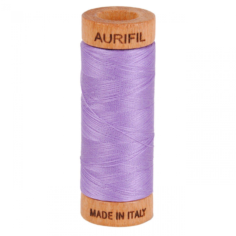 80 wt Aurifil - 2520 Violet