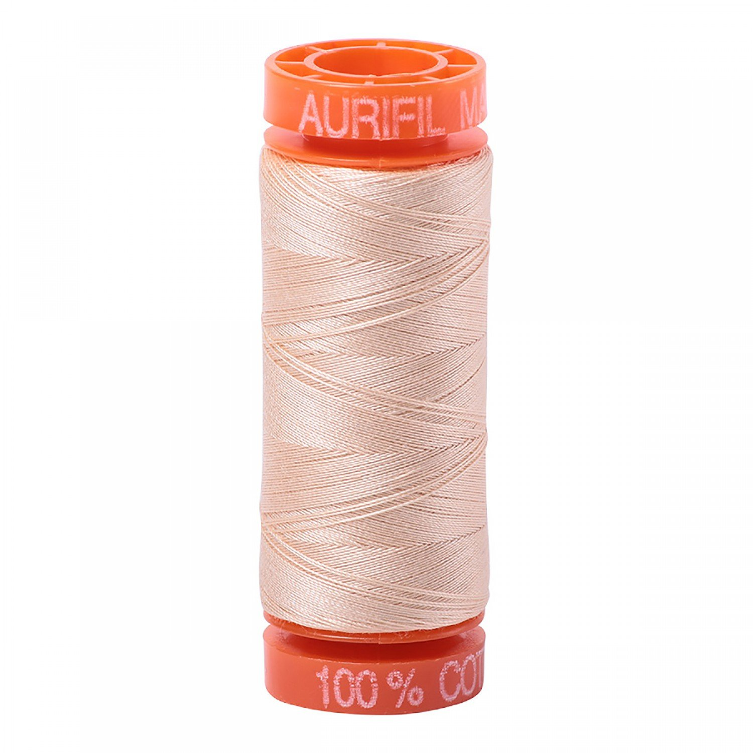 50 wt Aurifil - AS2315 Pale Flesh/Shell