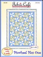 Pinwheels Plus One - 3 YD Pattern