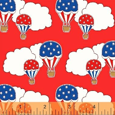 Storybook Americana Red Balloons