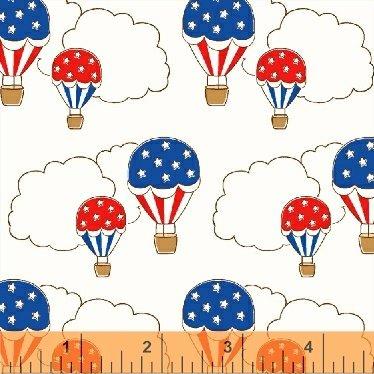 Storybook Americana White Balloons