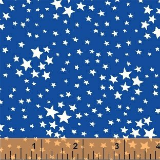 Storybook Americana Blue Stars