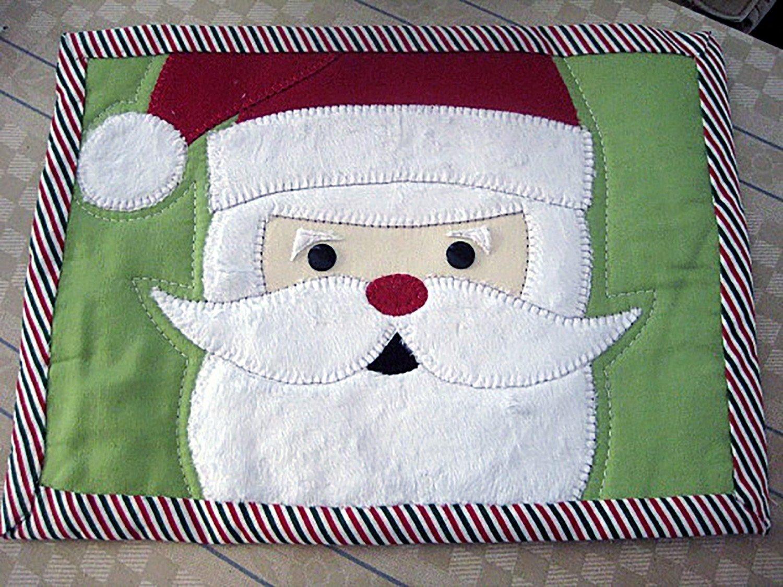 CLP - Santa Mug Rug