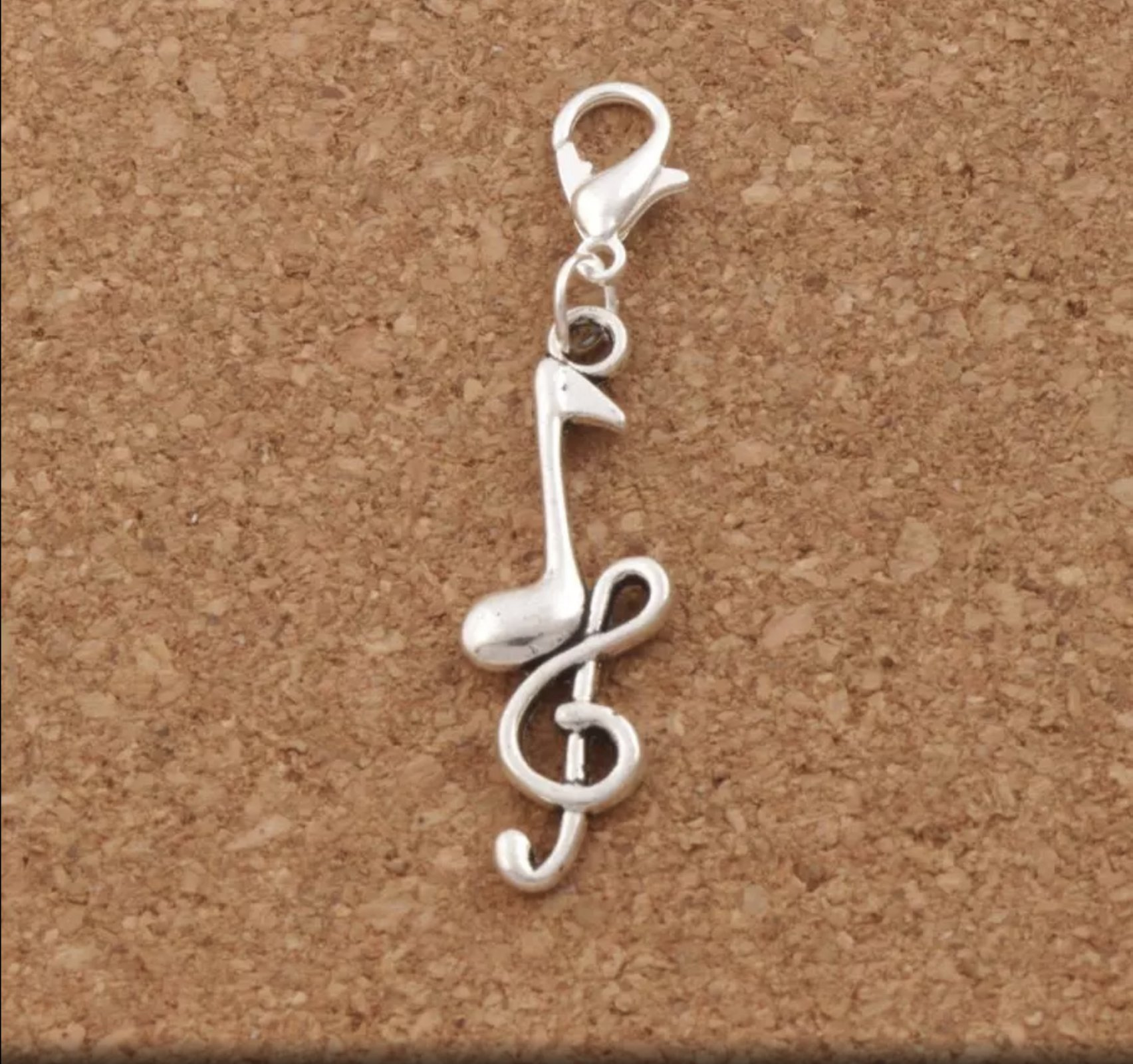 Charm - Clef and Eighth Note