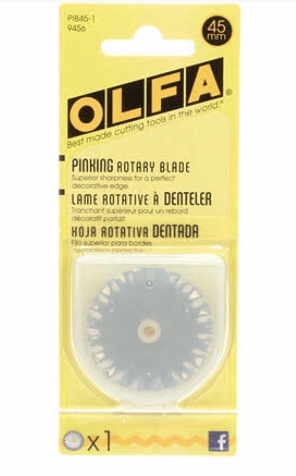 Olfa 45 mm Pinking Rotary Blade