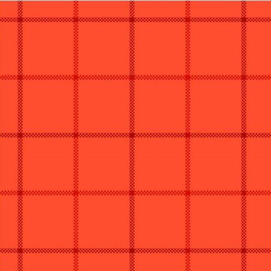 Local Color Flannel - Orange