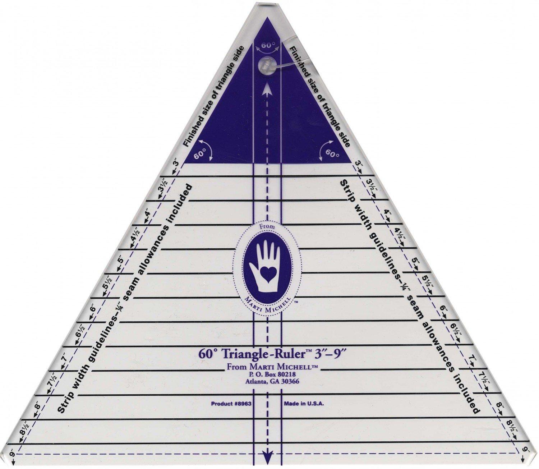 MM 60 DegreeTriangle Ruler