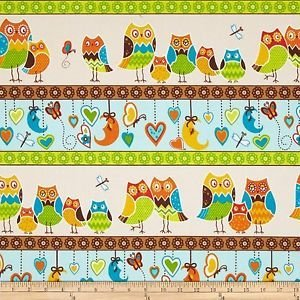 Multi Owl Stripe Flannel