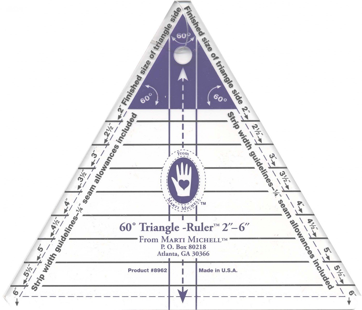 MM 6 Equalateral Triangle. 8962
