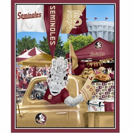 Florida State Tailgate Party Panel (36x44)