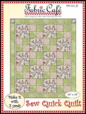 Sew Quick - 3 Yd Quilt Pattern