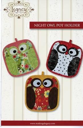 Night Owl Pot Holder