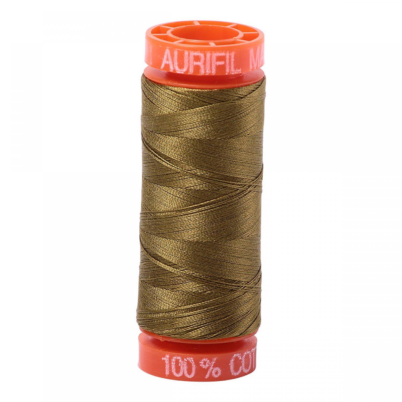 50 wt Aurifil - AS2910 - Medium Olive*