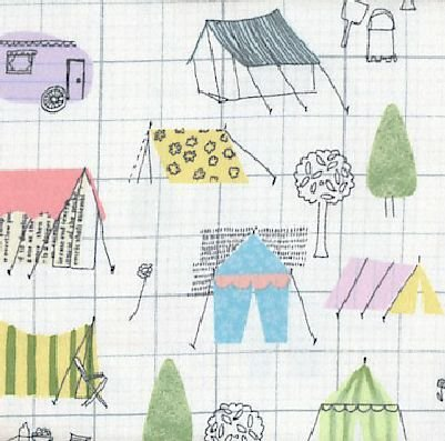 Tents and Campers Flannel