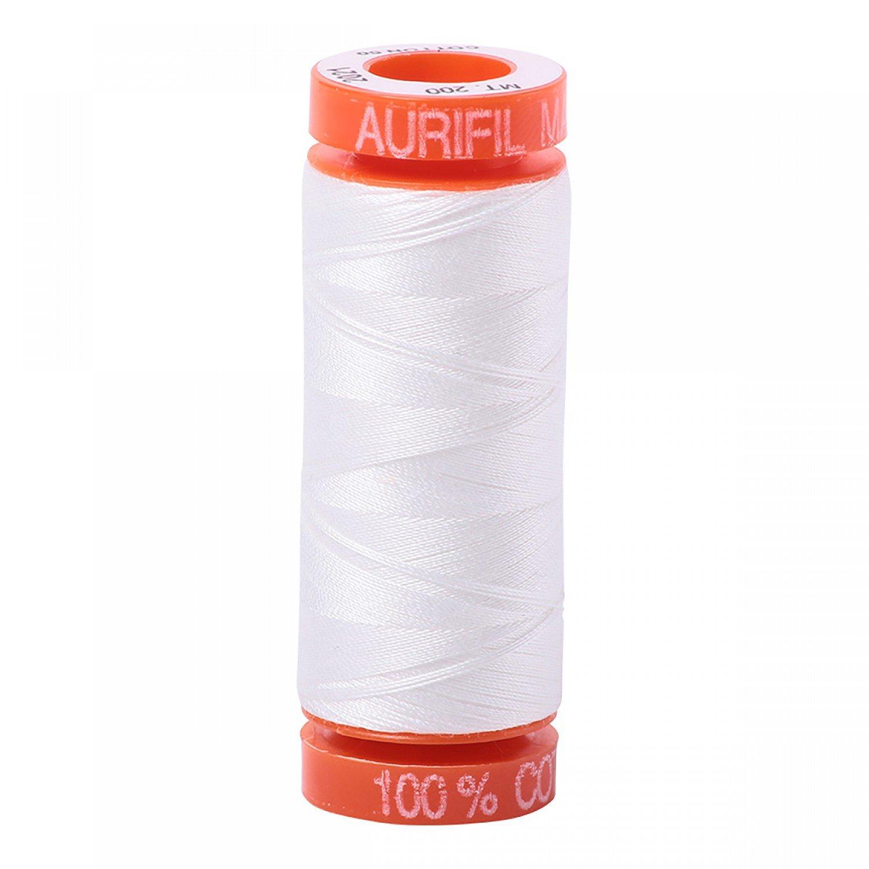 50 wt Aurifil - AS2021 Natural White (D)