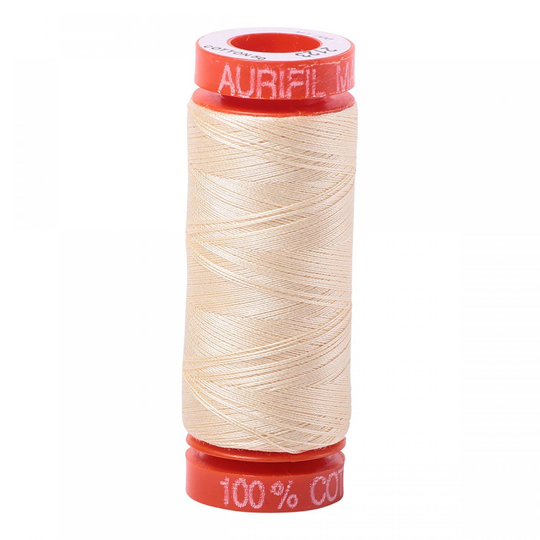 50 wt Aurifil - AS2123 Butter*