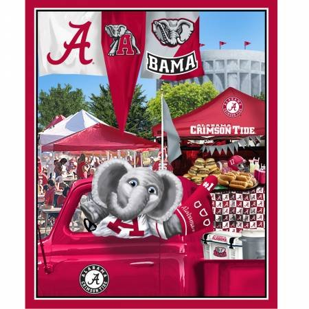 Alabama Tailgate Party Panel (36x44)