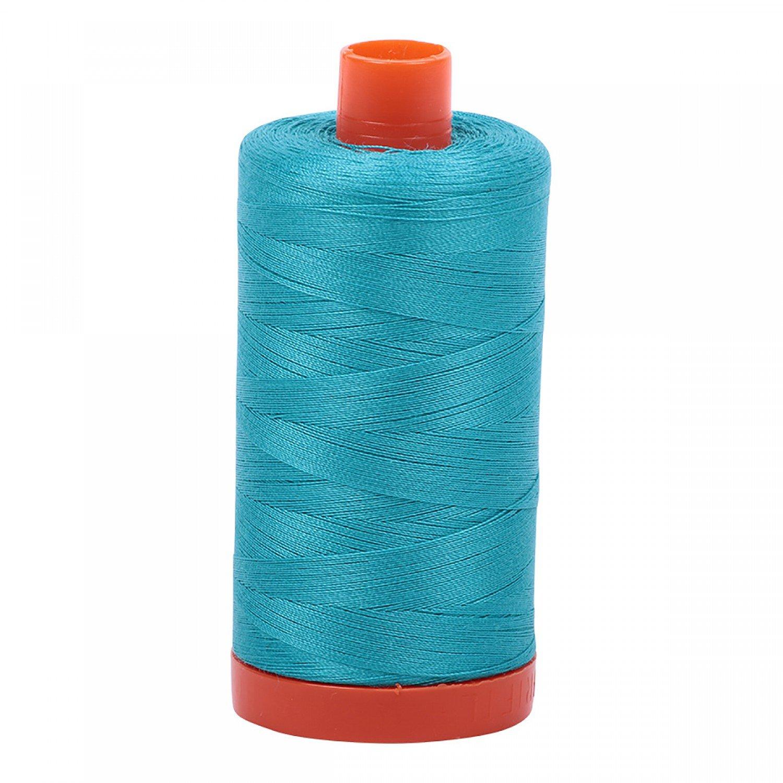 50 wt Aurifil - 2810 Turquoise