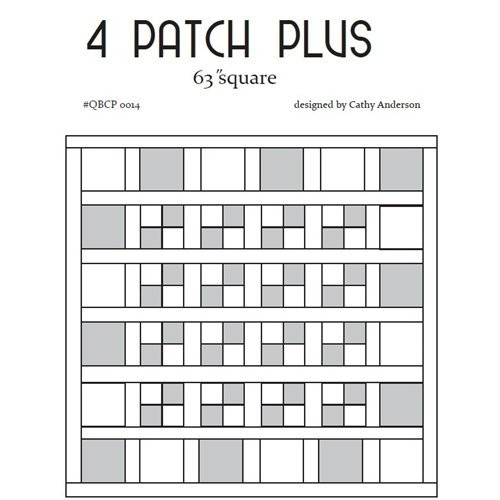 QBCP - 4 Patch Plus (Eighths)