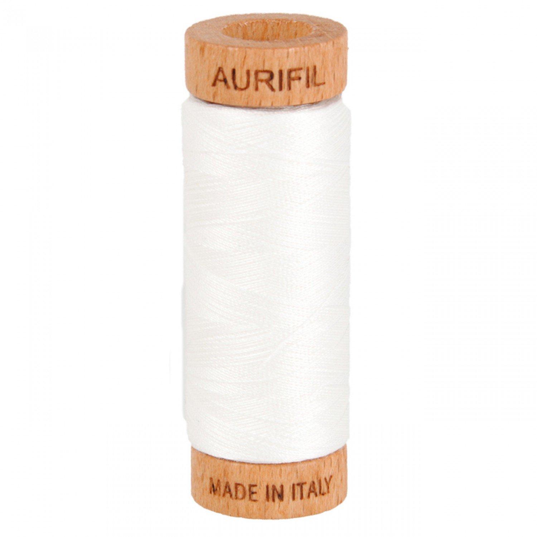 80 wt Aurifil - 2021 Natural White
