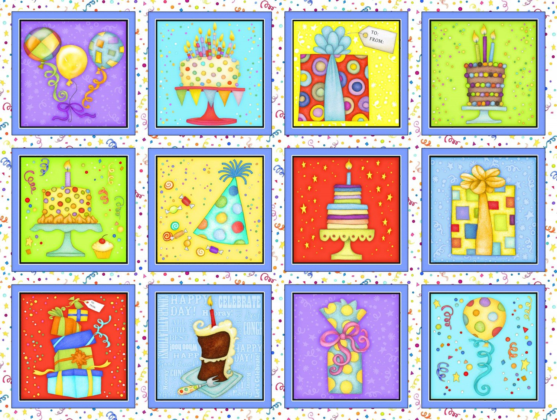 Let's Celebrate - Squares