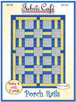 Porch Rails 3 Yd Quilt Pattern