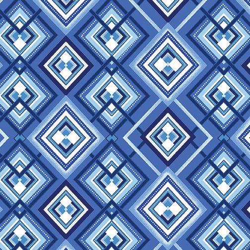 Blue Brilliance - Shimmer Diamonds Blue