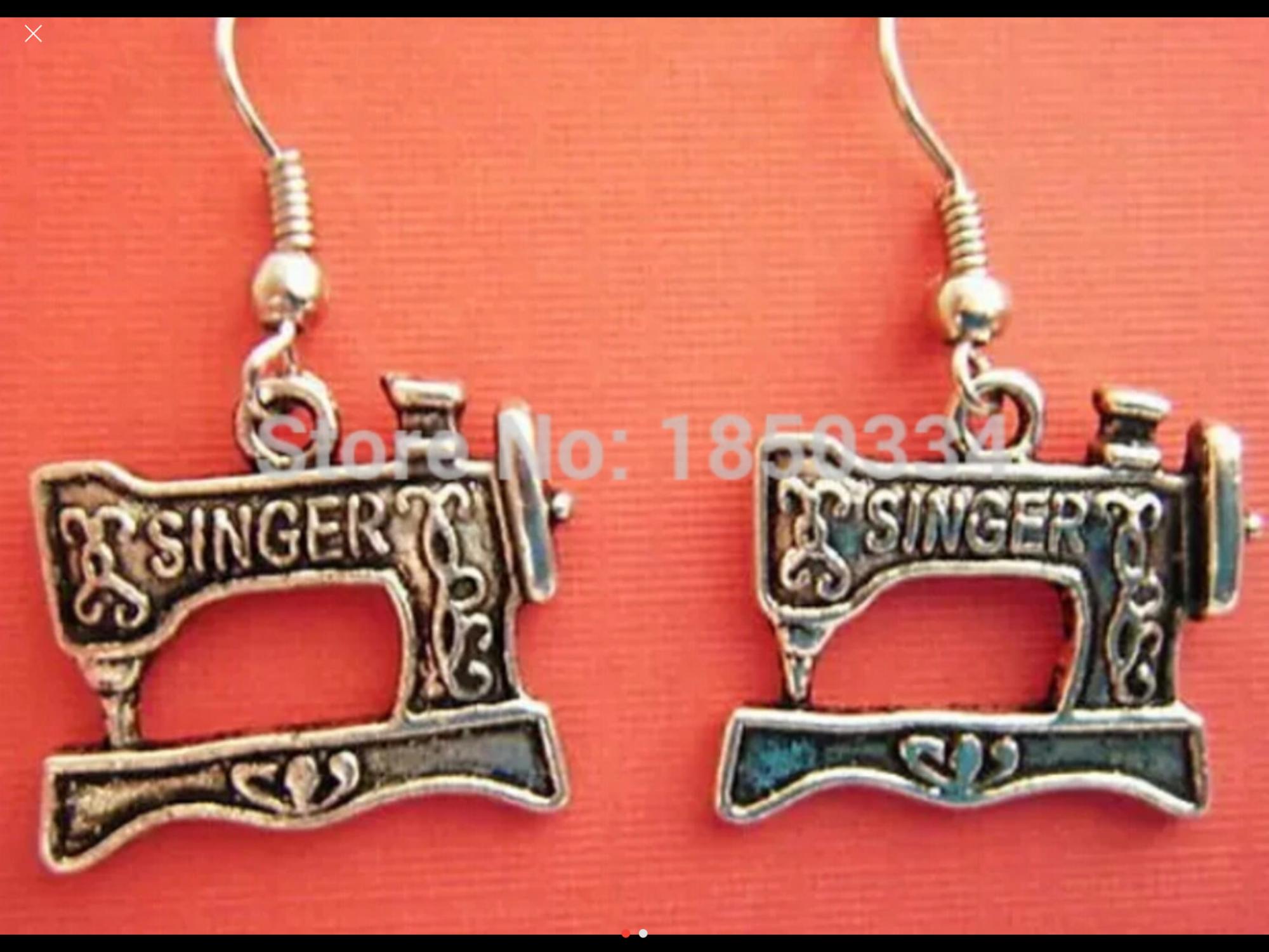 Singer Earrings