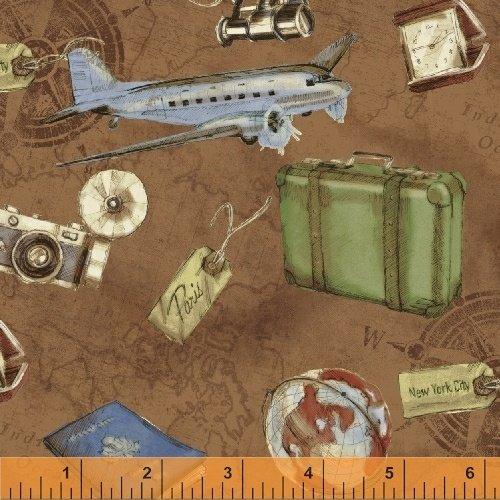 Passport - Tossed Travel Items