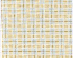 Peaceful Garden Sm. Cream Plaid