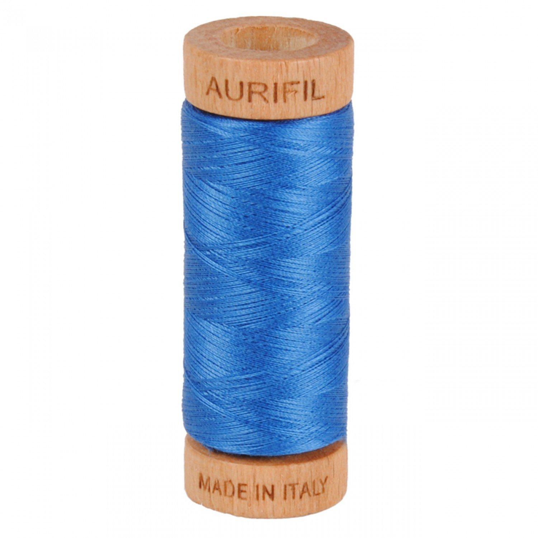 80 wt Aurifil - 2730 Delft Blue