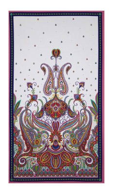 Imperial Paisley Panel