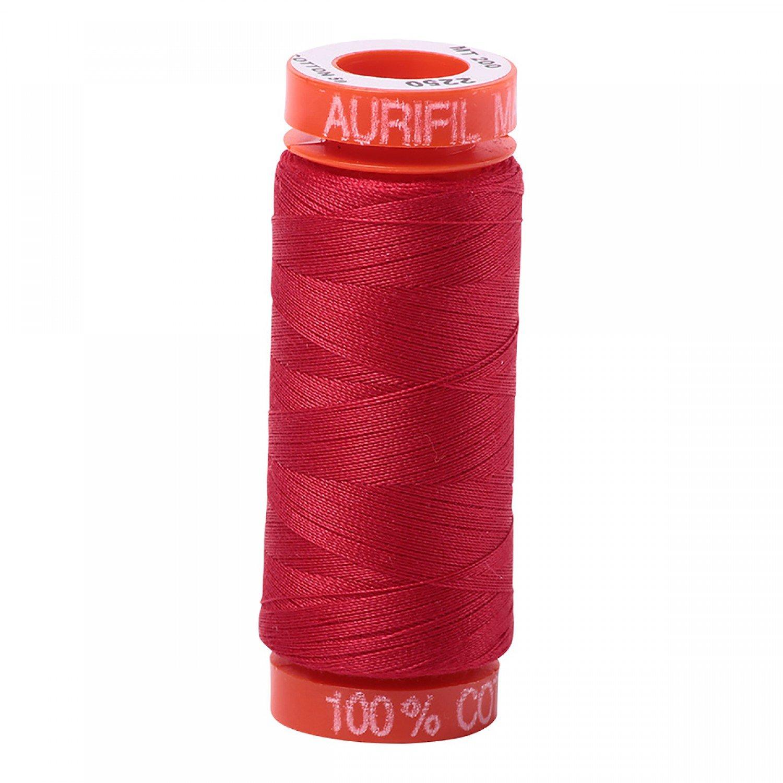 50 wt Aurifil - AS2250 - Red*