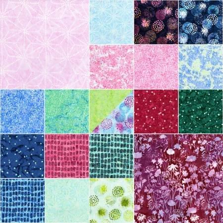 Blossom Batik - Horizon - Pixie Strips