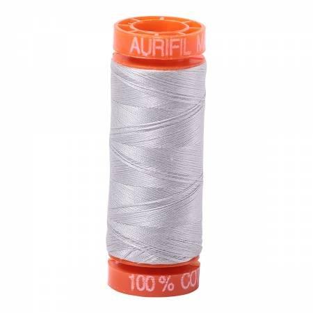 50 wt Aurifil - AS2615 Aluminum