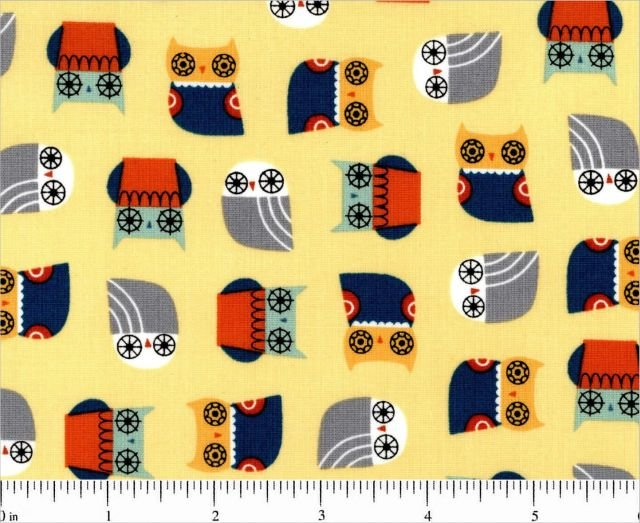 Suzy's Mini Yellow Owls