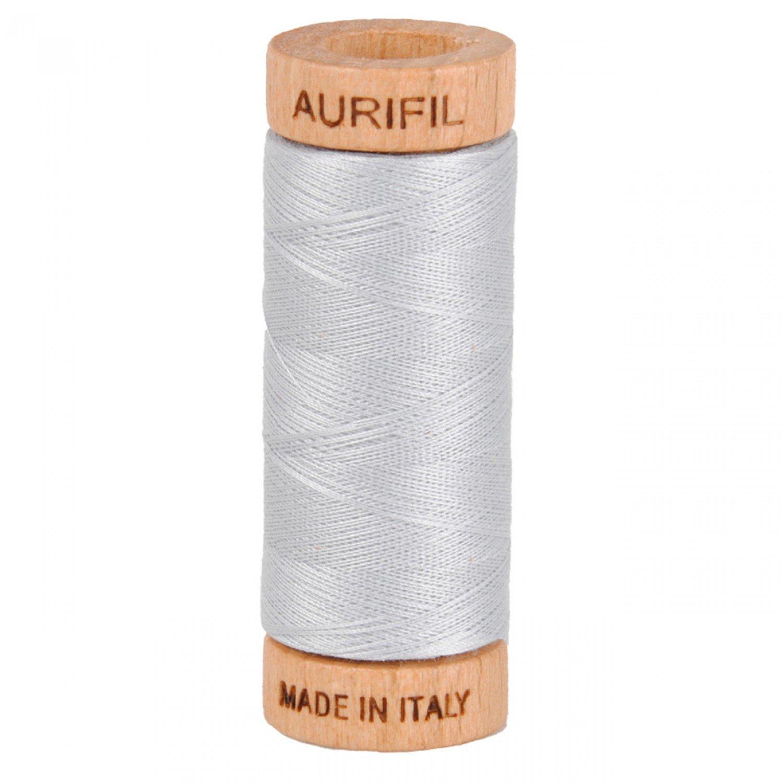80 wt Aurifil - 2600 Dove