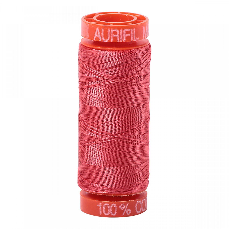 50 wt Aurifil - AS5002  Medium Red*