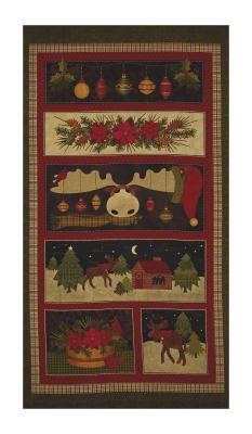 A Moose for Christmas Panel