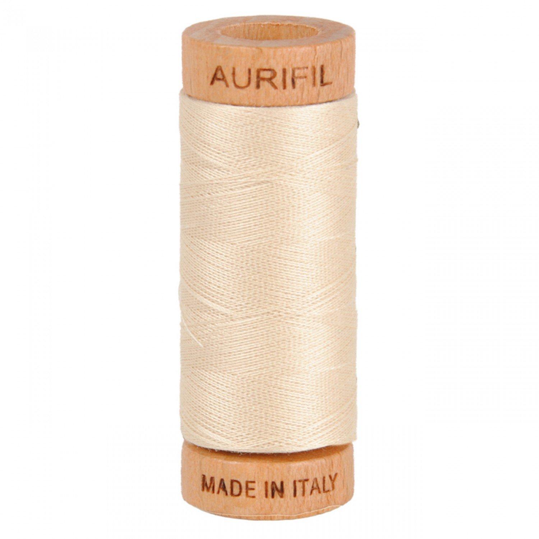 80 wt Aurifil - 2310 Light Beige