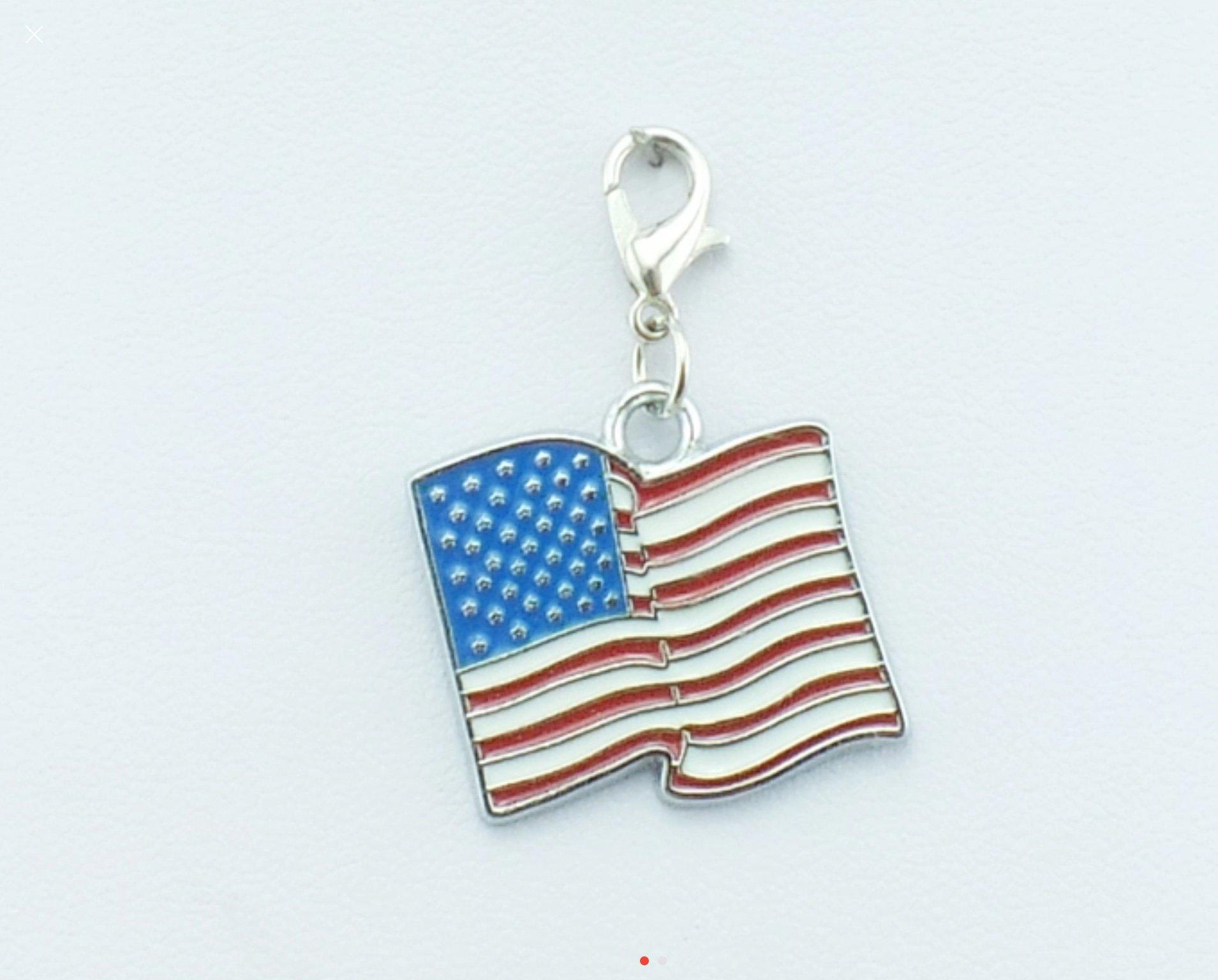 Charm - American Flag