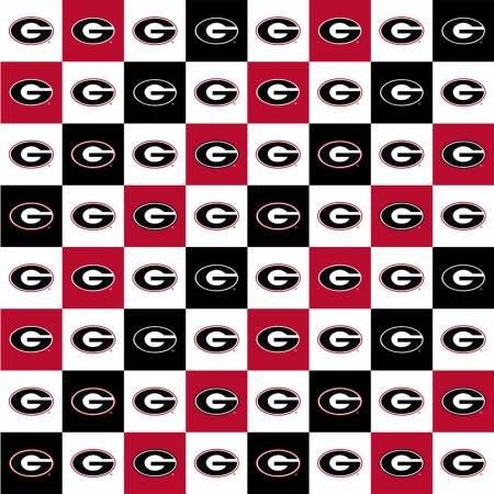 Georgia Bulldog Squares