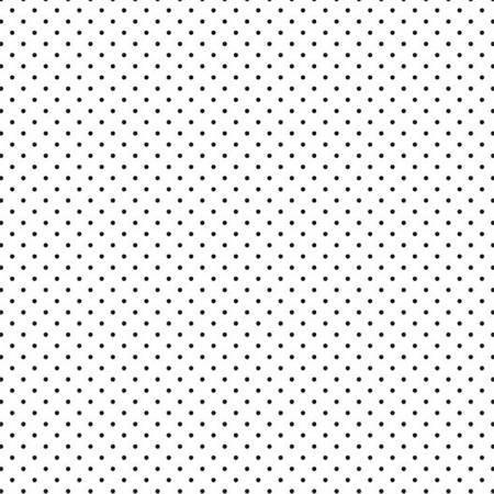 Black Swiss Dot on White