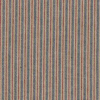 Beige/Blue/Ruby Blue Stripe Yarn Dye