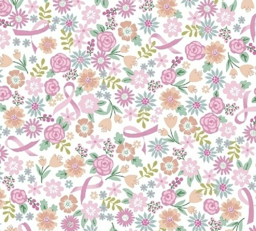I Believe in Pink - Flowers & Ribbons